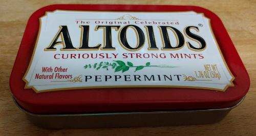 Altoids Survival Kit Wilderness Survival