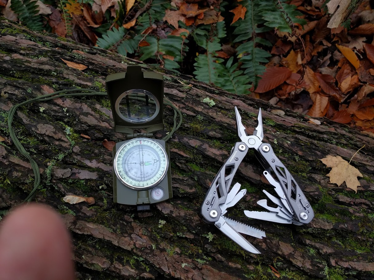 gear - compass and multi-tool