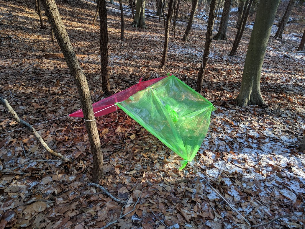 poncho tent shelter 2